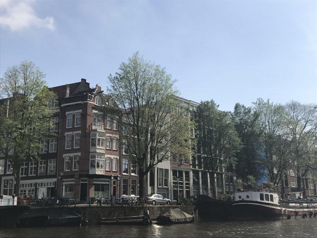 prédios em Amsterdam