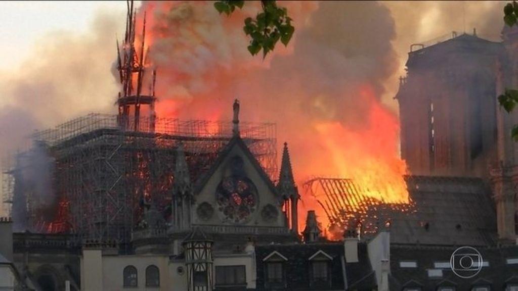 incendio na Notre Dame