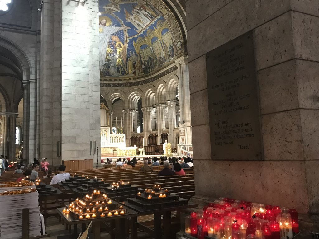 Sacre Coeur vista por dentro visita a sacre coeur