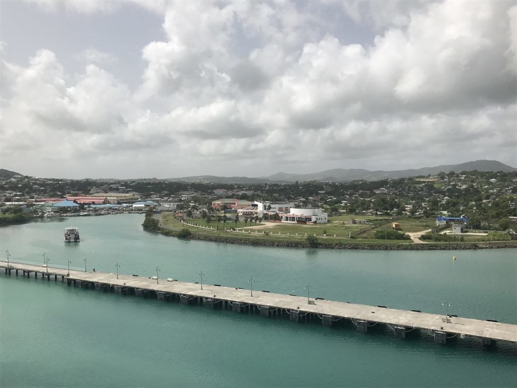 Antigua, St. Johns no Caribe