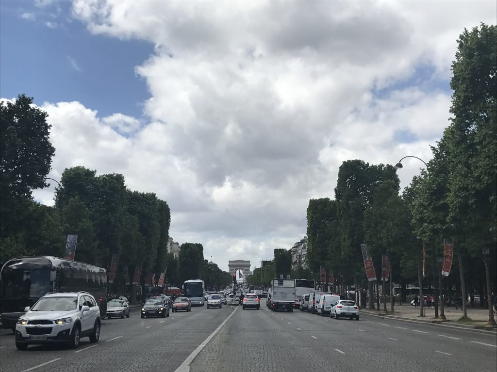 Avenida Champs Elysses - Paris