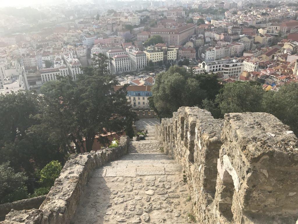 Vista de Lisboa do Castelo de São Jorge