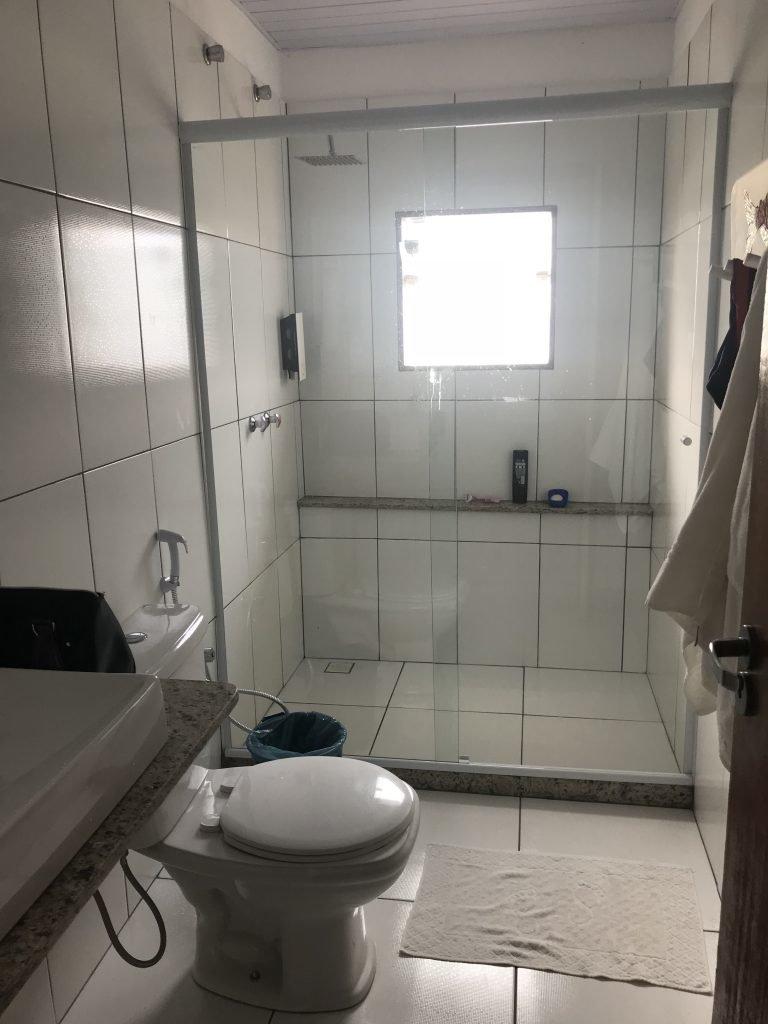 banheiro da suíte - Pousada do Preto