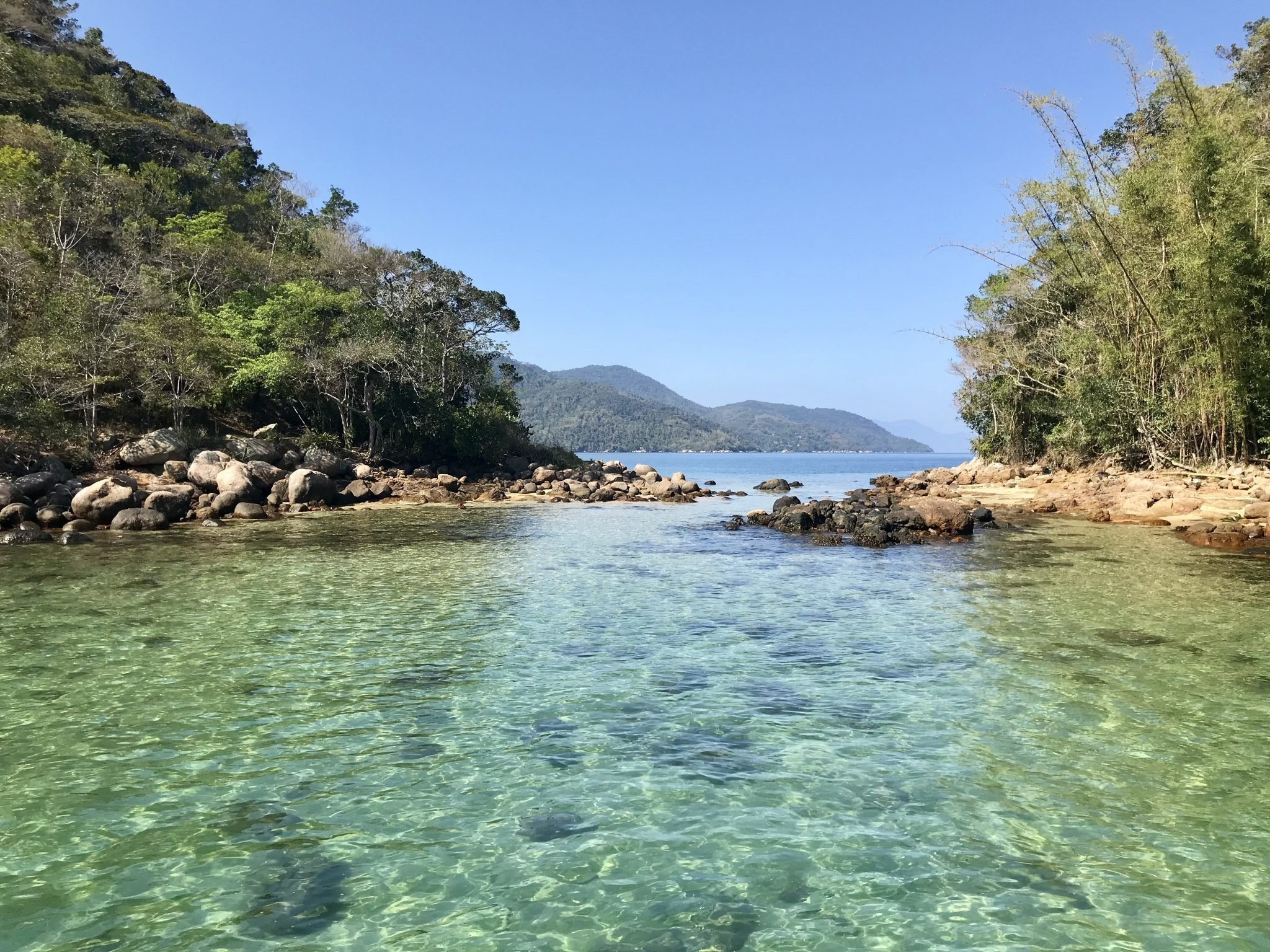 Lagoa Verde - Ilha Grande/RJ