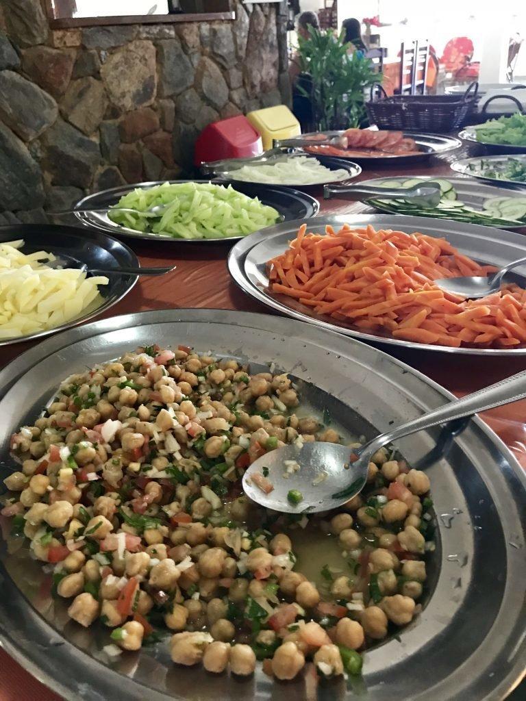 Variedade na salada
