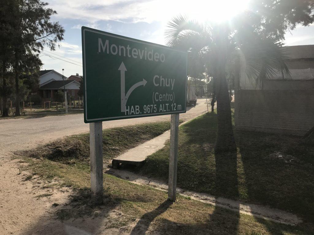 A caminho do Chuy no Uruguai