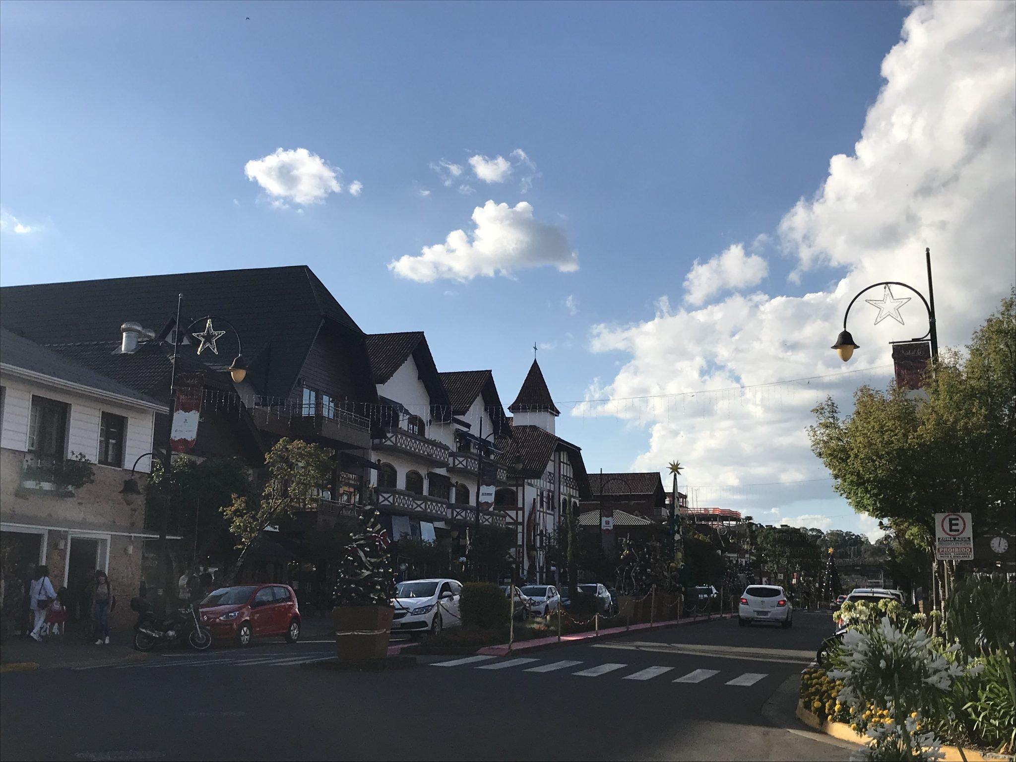 Avenida Borges de Medeiros - Gramado