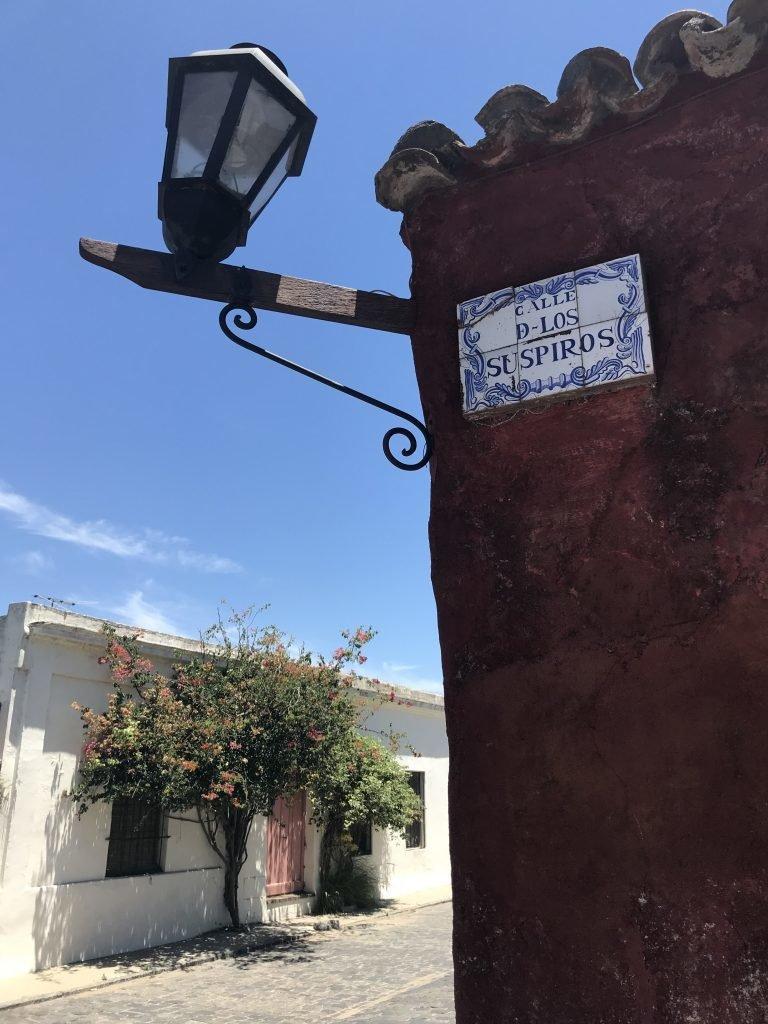 Calle dos Suspiros - Colônia do Sacramento