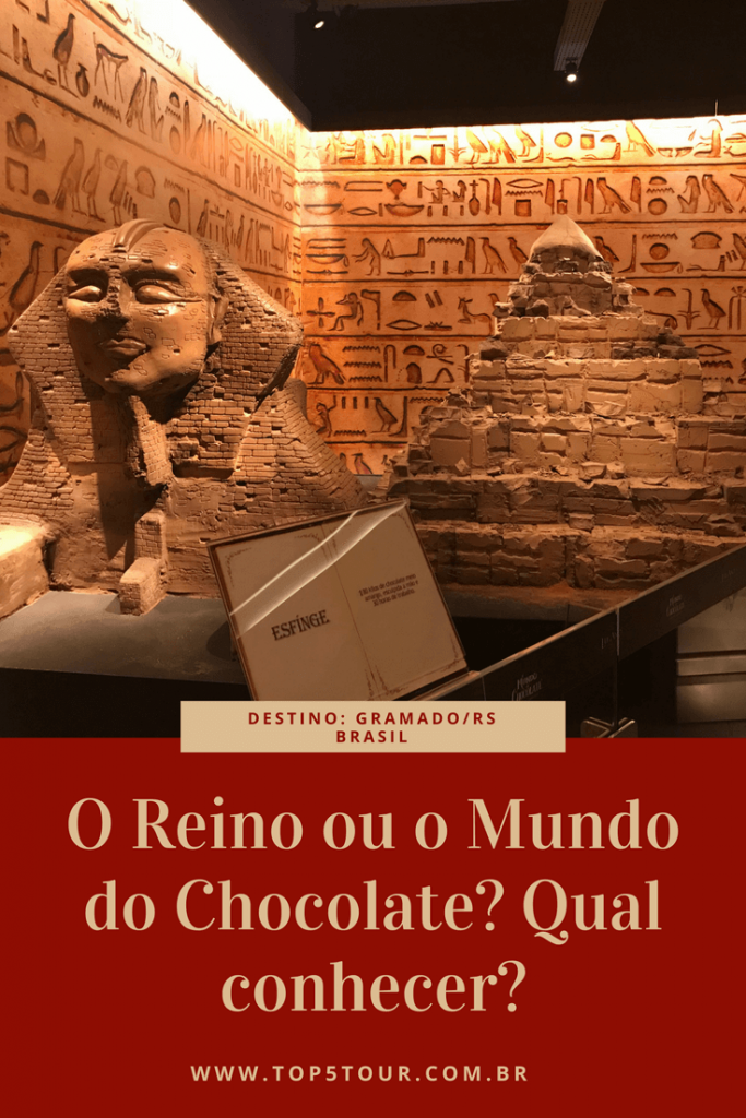 O Reino ou o Mundo do Chocolate em Gramado? Qual conhecer?