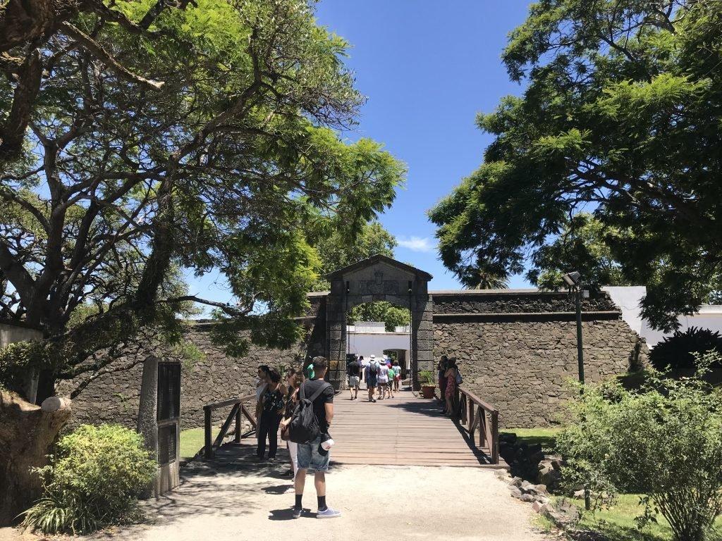 Portal da cidadela - Colônia do Sacramento
