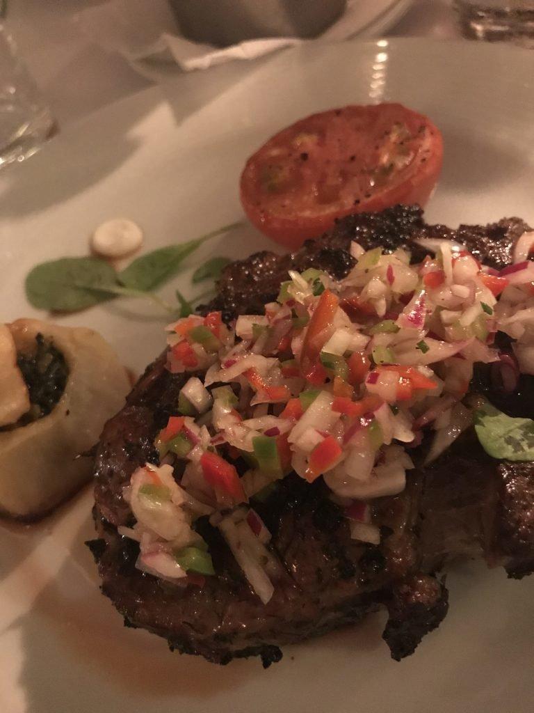 prato principal - Restaurante Novecento - Montevideo