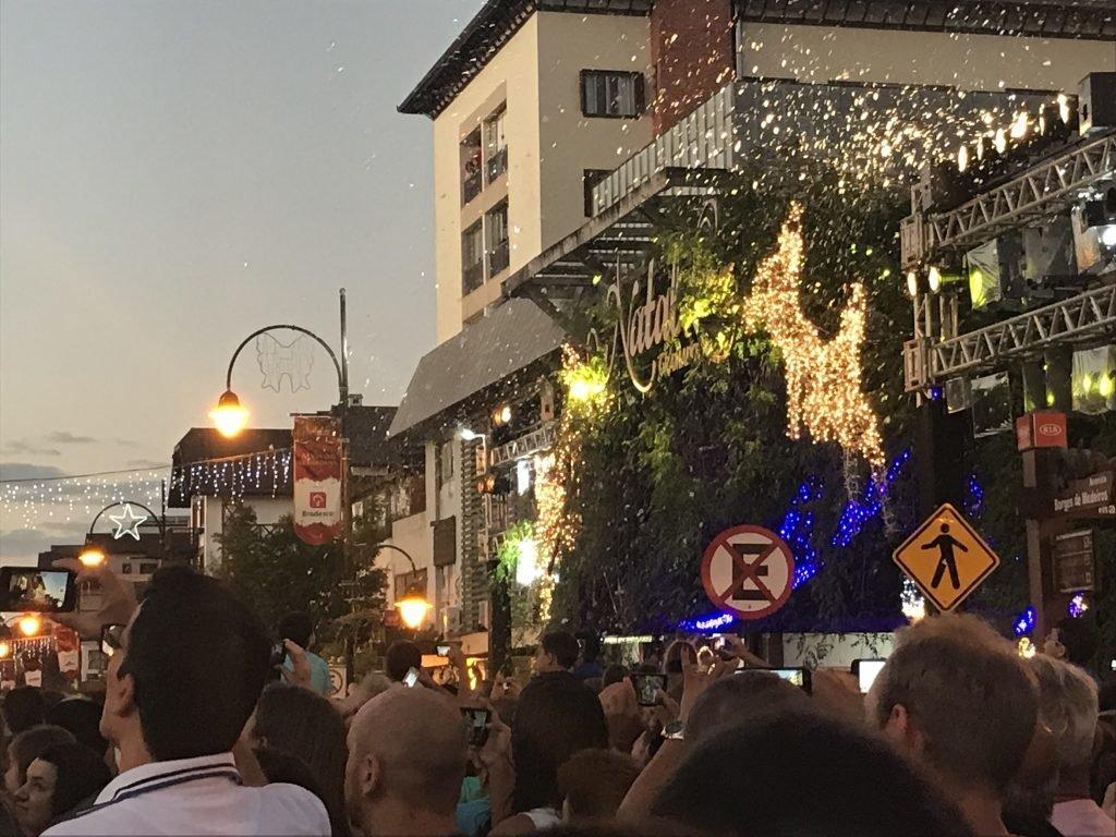 Rua Coberta - Natal Luz em Gramado