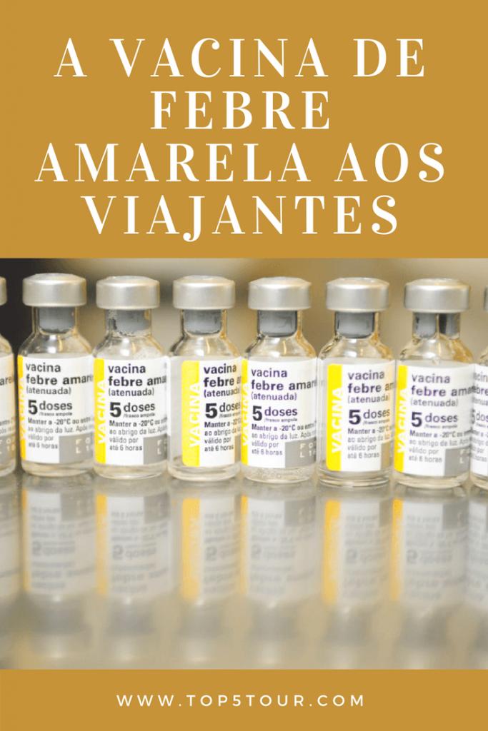 Saiba sobre a vacina de febre amarela aos viajantes