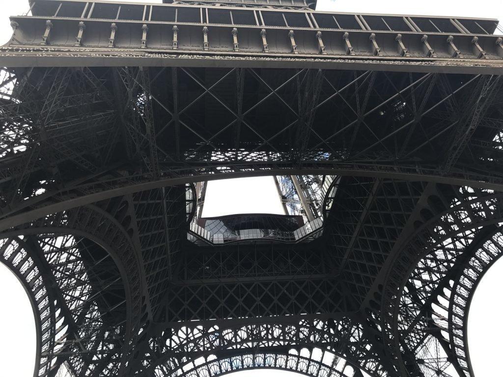 Torre Eiffel - ponto turístico em Paris