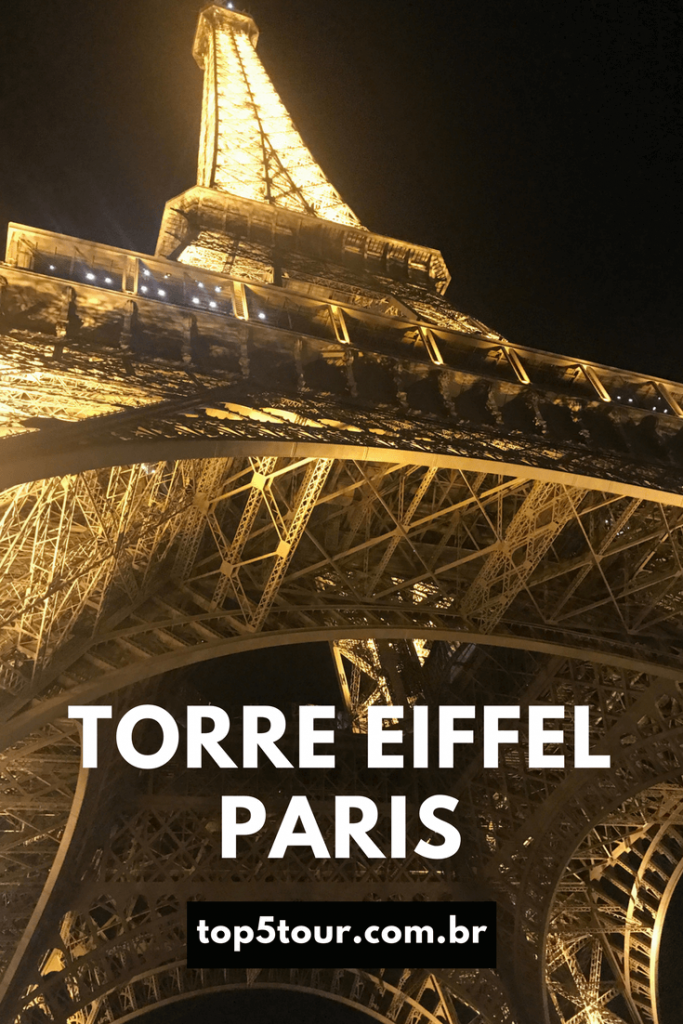 Conheça o ponto turístico mais visitado do mundo - Torre Eiffel em Paris