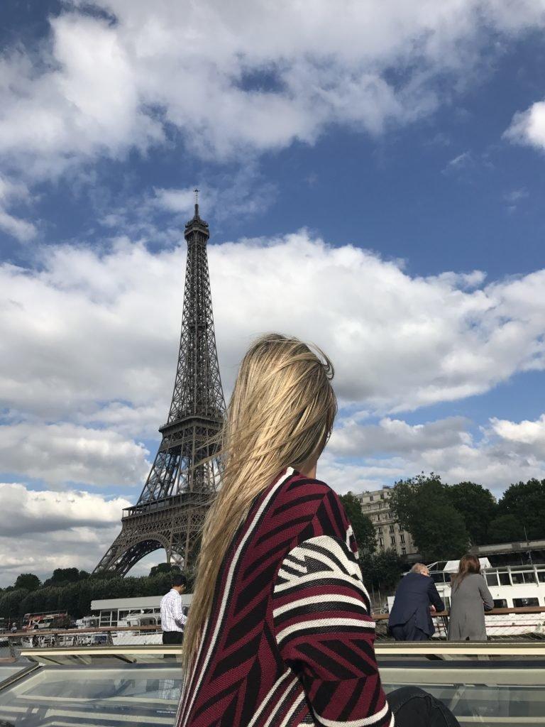 Torre Eiffel - Paris - vista do Rio Sena