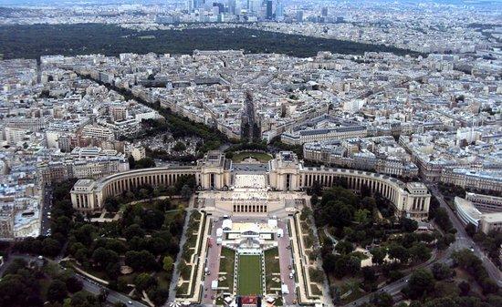 Torre Eiffel vista do Topo