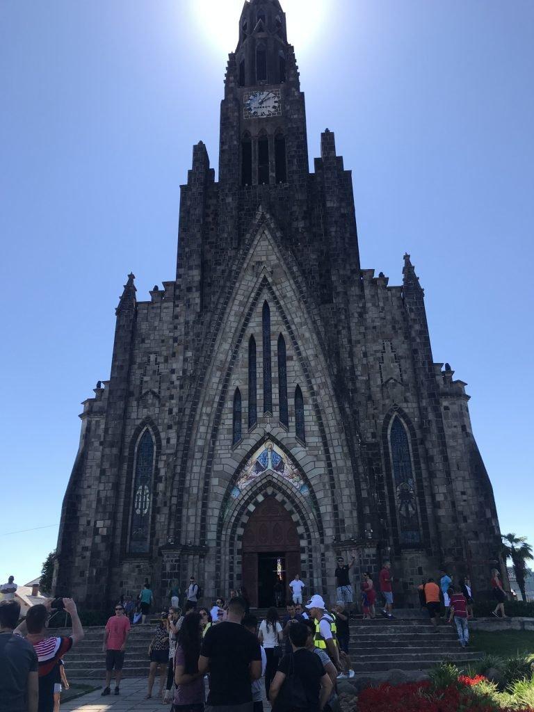 Um dia em Canela - Catedral de Pedra