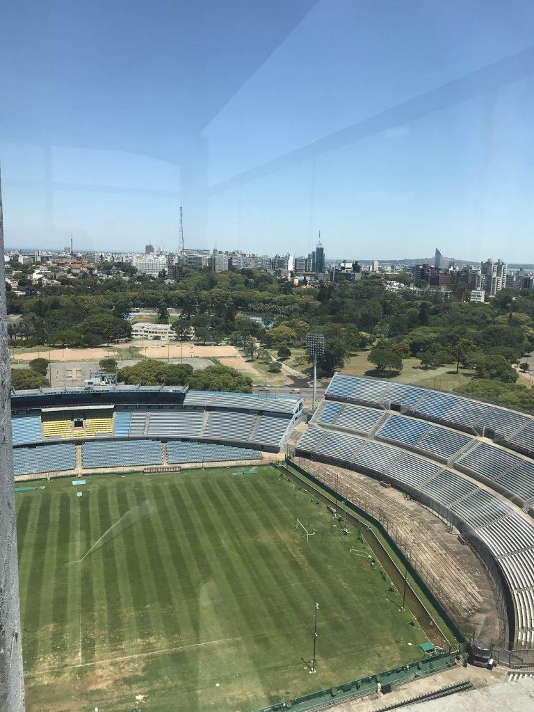 Vista do Estádio de cima da Torre