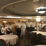 Viagem de navio: as refeições a bordo
