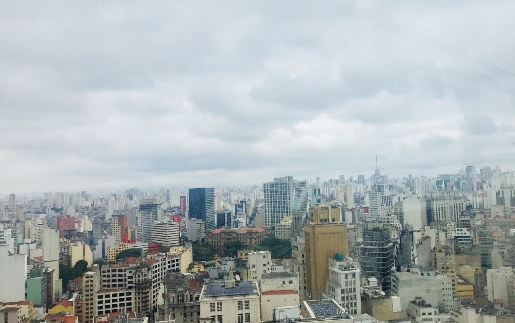 Vista de São Paulo - Farol Santander