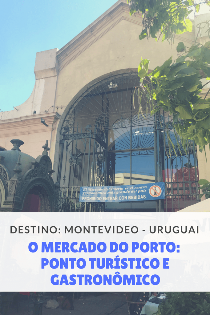 Mercado do Porto em Montevideo, no Uruguai