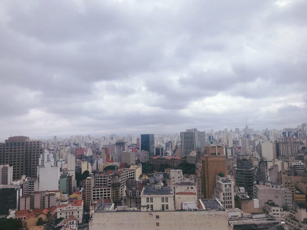 Vista da cidade de São Paulo - Farol Santander