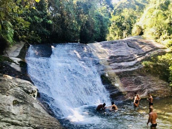 Cachoeira de Deus em Penedo