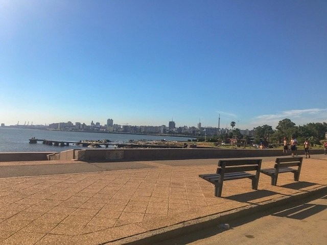 Ramblas em Montevideo
