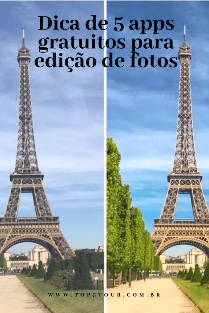 Apps para edição de fotos