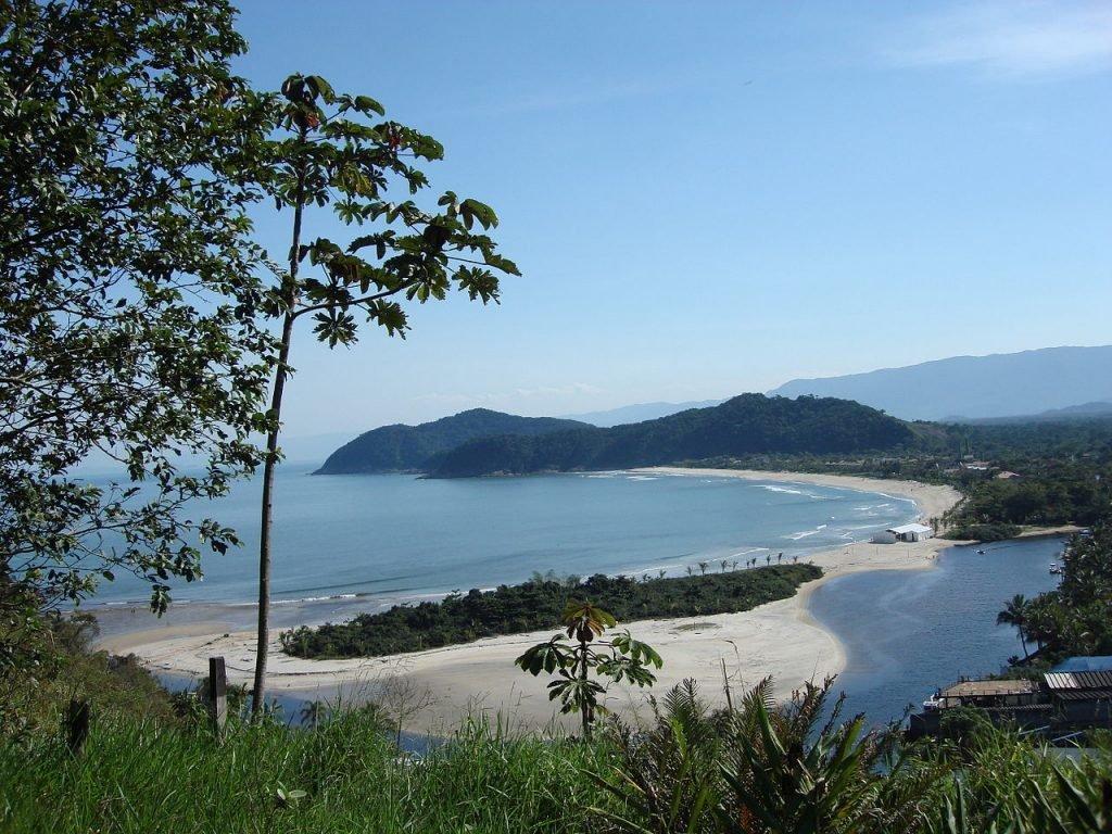 Barra do Una praia no litoral norte de SP