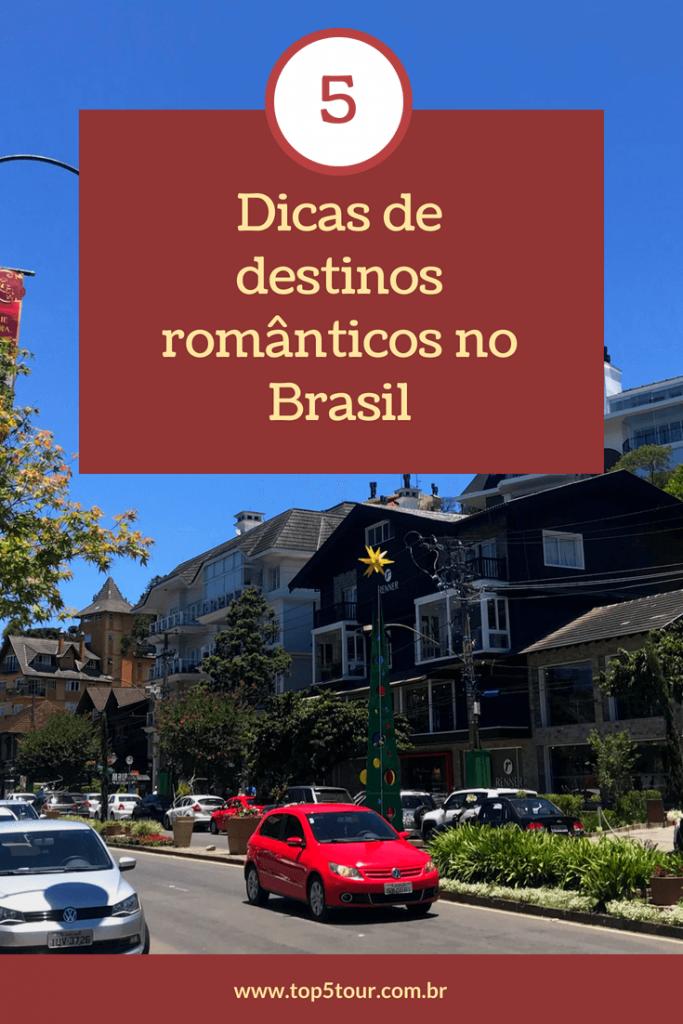 Dicas de destinos românticos no Brasil