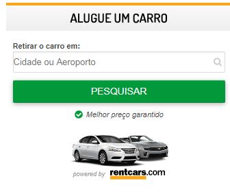 Alugar carro para viajar - Rentcars agora parceiro do blog