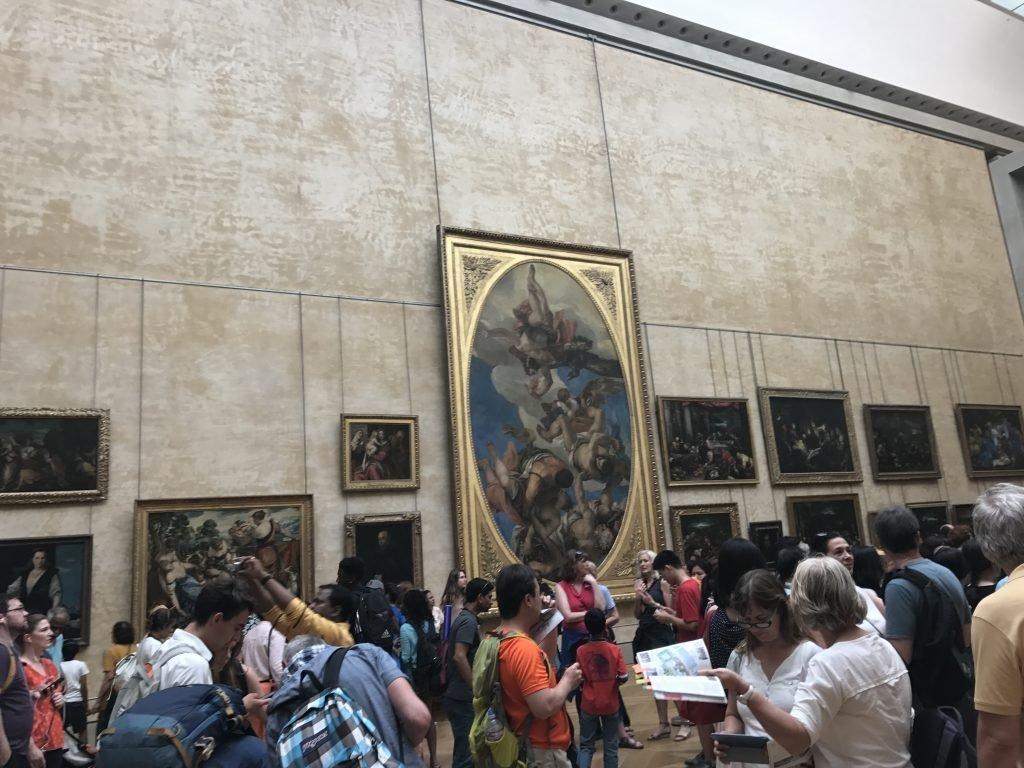 conhecendo o museu do louvre - pinturas