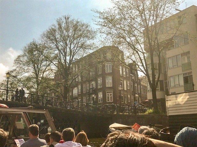 Cruzeiro pelos canais - o que fazer em Amsterdam