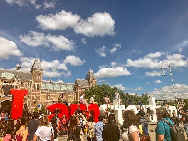 Letreiro I Amsterdam - o que fazer em Amsterdam