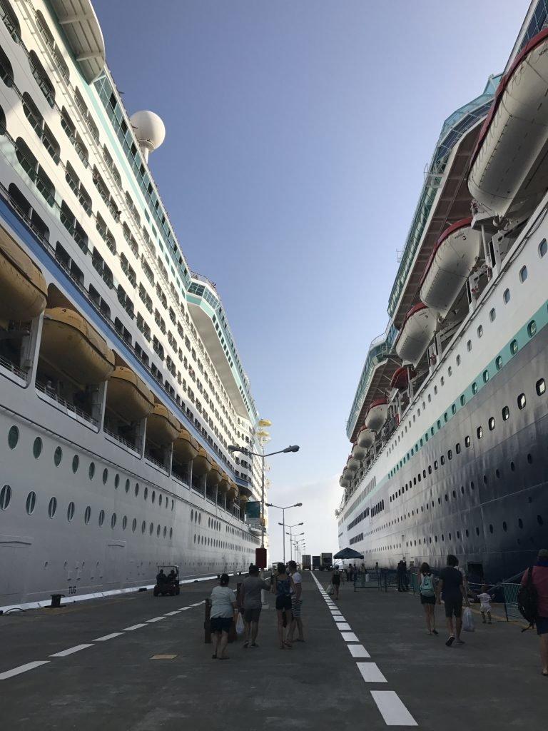fazer um cruzeiro pela primeira vez - paradas do navio