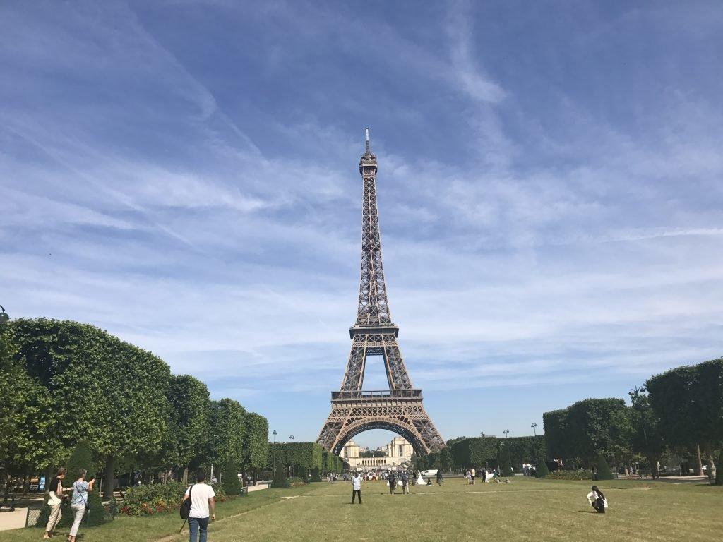 Torre Eiffel - Paris - berloque de viagem