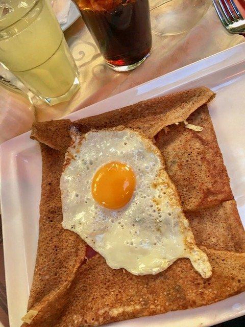 Crepe - o que comer em Paris
