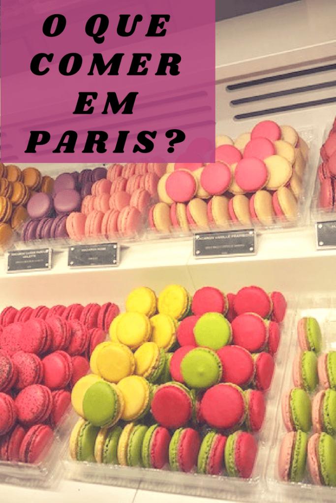 O que comer em Paris?