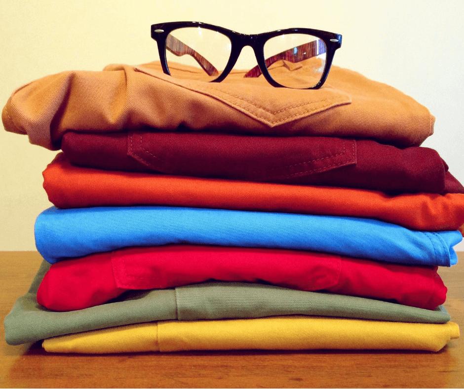 roupas básicas - docas para evitar roubo em viagem