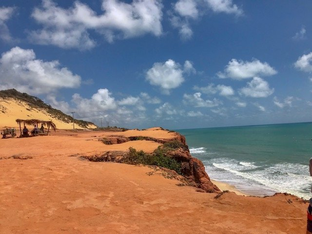 Falésias Praia de Cacimbinhas - o que fazer em Natal - Pipa e Praia do Amor