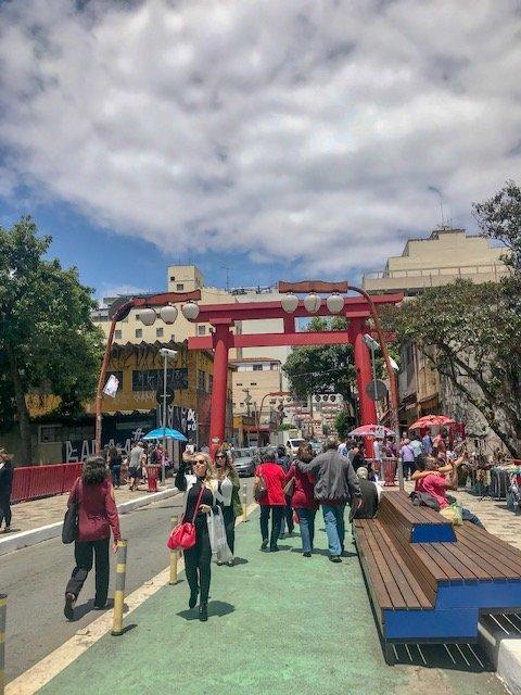 II encontro do japão.br - bairro da liberdade em São Paulo