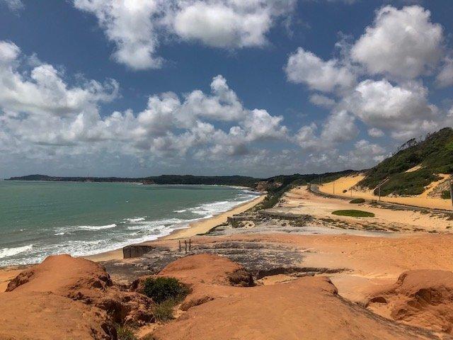 Mirante da praia de Cacimbinhas - o que fazer em Natal RN