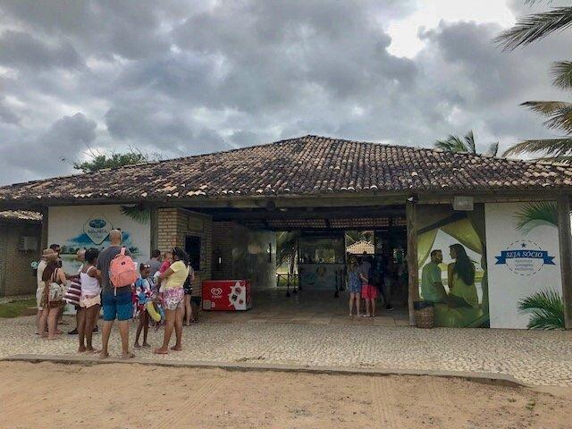 Chegando ao Manoa Beach Park - Parrachos de Maracajaú