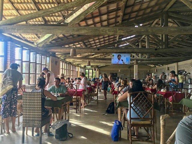Manoa Beach Park - apoio ao mergulho nos parrachos de Maracajaú