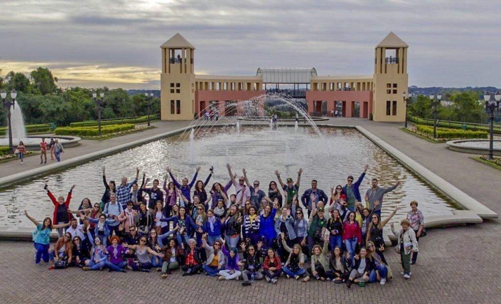 Blogueiros no Parque Tanguá - ERBBV 2018