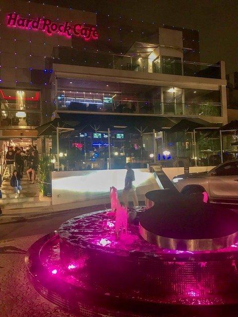 O que fazer em Curitiba - Hard Rock Café