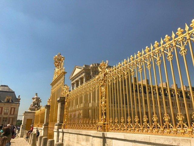 chegar ao Palácio De Versalhes