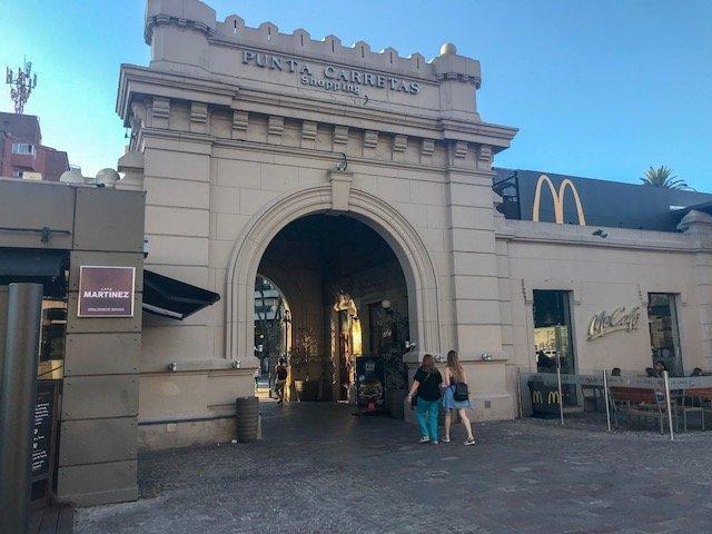 onde comprar em Montevideo - shopping Punta Carretas